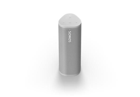 Sonos Roam Portable Bluetooth and WiFi Speaker,  White