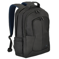 "Riva Case 8460 black bulker Laptop Backpack 17"""