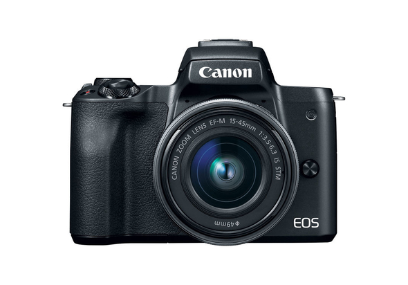 Canon EOS M50 Mirrorless Camera with EF-M15-45mm Lens