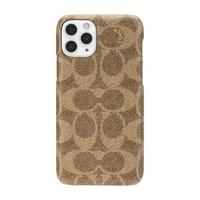 Coach Slim Wrap Case for iPhone 11 Pro, Signature C Khaki