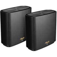 Asus XT8 ZenWiFi AX6600 Wireless Tri-Band Mesh Wi-Fi System 2-Pack, Charcoal