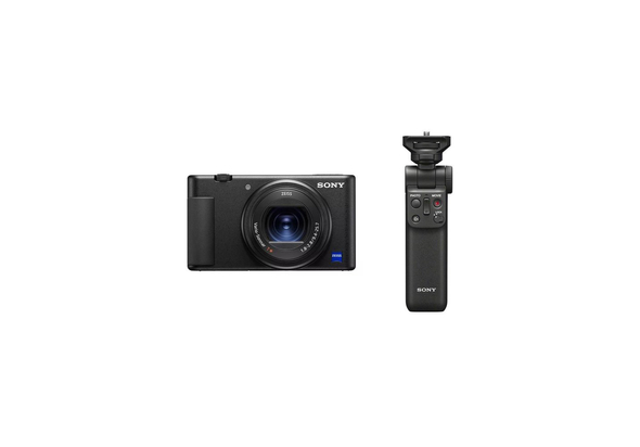 Sony ZV-1 Digital Camera with Sony GPVPT2 Shooting Grip Bundle