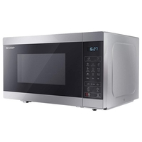 Sharp R28CT 28 Liter Stainless Steel Digital Solo Microwave