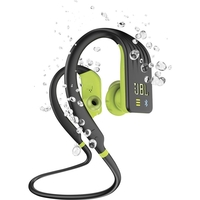JBL Endurance Dive Wireless Sports Headphones with MP3 Player,  Black Lime