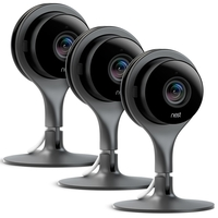 Nest Cam Indoor Security Camera Pack of 3