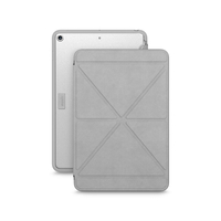Moshi VersaCover Case with Folding Cover for iPad mini (5th Gen) , Stone Grey