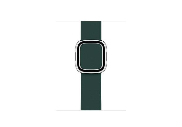 Apple 40mm Forest Green Modern Buckle, Medium