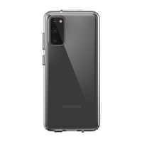 Speck Presidio Perfect-Clear Case for Samsung Galaxy S20, Clear