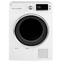 Teka 8 Kg Condenser Dryer TKS 850 C, 16 Programs, White