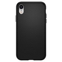 Spigen iPhone XR Case Liquid Air, Matt Black