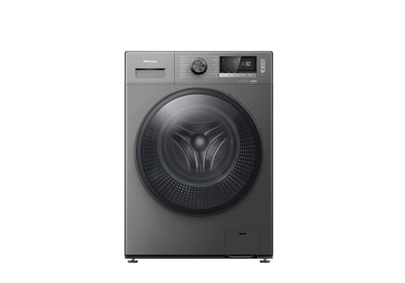 Hisense WDBL1014VT Front Load Washer Dryer 10 kg Wash/7 kg Dry, Titanium
