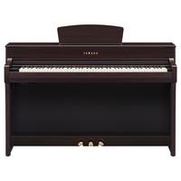 ياماها CLP-735R 88 البيانو الرقمي ،خشب وردي