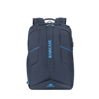 "Rivacase 7861 Borneo 17.3"" Gaming Backpack, Dark Blue"