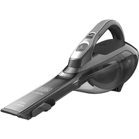 Black & Decker DVA320J 21.6 Watts Lithium Cordless Portable Vacuum Cleaner, Gray