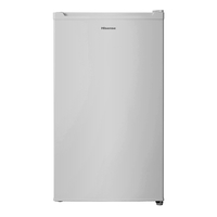 Hisense A+ Single Door Refrigerator -120 LTR, Silver