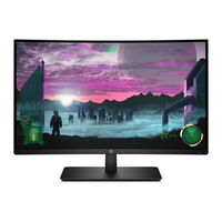 "HP 27"" 7MW42AS Curved Gaming Monitor"