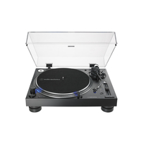 Audio Technica AT-LP140XP Direct-Drive Professional DJ Turntable, Black