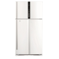 Hitachi RV990PUK1KTWH 990L Top Mount Refrigerators, Texture White
