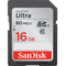 SanDisk 16GB Ultra UHS-I SDHC Memory Card Class 10