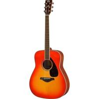 Yamaha FG820 Solid Top Acoustic Guitar, Autumn Burst