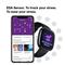 Fitbit Sense GPS Smartwatch,  Lunar White / Soft Gold Stainless Steel