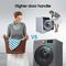 Hisense A+ + Free standing 8/5 KG front load washer Dryer1400 RPM N, Premium Titanium color, Snowflake Drum.