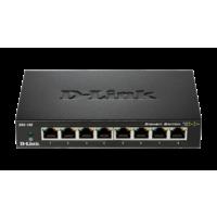 Dlink DGS-108 8-Port Gigabit Unmanaged Desktop Switch