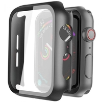 Hyphen HAW-BL407336 Apple Watch Protector Tempered Glass Black 40mm