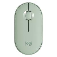 Logitech Pebble M350 Silent Mouse, Eucalyptus
