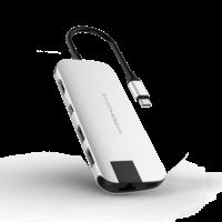 HyperDrive Slim USB-C Hub Space Gray,  Silver