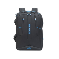 "Rivacase 7860 Borneo 17.3"" Gaming Backpack, Black"