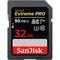 SanDisk 32GB Extreme PRO SDHC UHS-I Memory Card