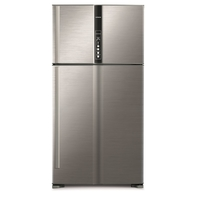 Hitachi RV990PUK1KBSL 990L Top Mount Refrigerators, Brilliant Silver