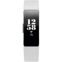 Fitbit Inspire HR Fitness Tracker, White/Black