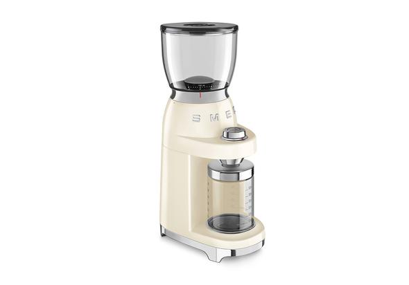 SMEG Coffee Grinder 50 s Style, Cream