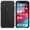 Apple iPhone XS Silicone Case,  Black