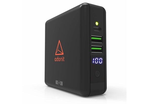 Adonit Wireless Travel CubeCharger Qi, Black