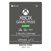 Microsoft Xbox Game Pass Ultimate 3 Month ESD MEA