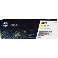 HP Original LaserJet Toner Cartridge, Yellow