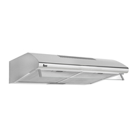 Teka 60 cm Built-In Traditional range Hood CL 610 S, 3 Speeds, Silver