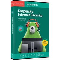Kaspersky KIS2PCRT2019 Internet Security Multi-device 1+ 1 User