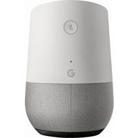 مكبر صوت لاسلكي جوجل هوم  - ابيض/قماش