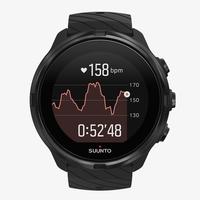 Suunto 9 Baro Smart Multisport GPS Watch, All Black