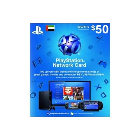 PlayStation Live Card $50