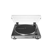 Audio Technica AT-LP60XUSB Fully Automatic Belt-Drive Turntable (USB & Analog) , Gun metal