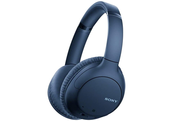 Sony WHCH710N Noise Cancelling Bluetooth Over The Ear Headset,  Blue