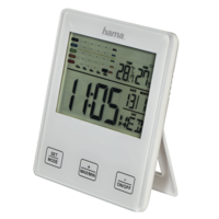 """Hama"""" TH-10"""" thermometer / hygrometer, with mold alarm"""