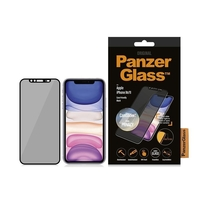 Panzer Glass PNZVP2668-0223 Apple iPhone XR/11 Black & Case Friendly, CamSlider & Dual Privacy