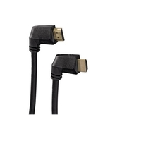 Hama HAM-122222 High Speed HDMI™ Cable- 90° , Ethernet, gold-plated, 2.0