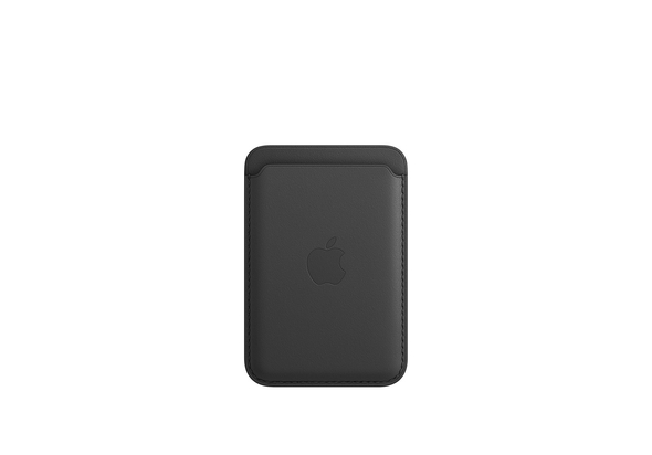 Apple iPhone Leather Wallet with MagSafe, Black